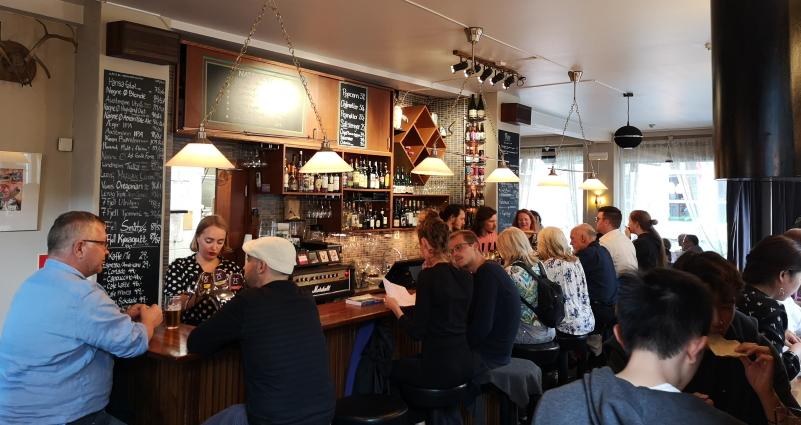 Pingvinen, Bergen, Bier in Norwegen, Bier vor Ort, Bierreisen, Craft Beer, Bierbar, Bierrestaurant