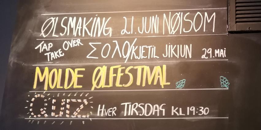 Tapp & Kork, Molde, Bier in Norwegen, Bier vor Ort, Bierreisen, Craft Beer, Bierbar