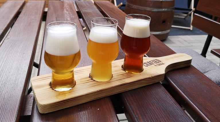 Browar pod Zamkiem, Szczecin, Bier in Polen, Bier vor Ort, Bierreisen, Craft Beer, Brauerei, Gasthausbrauerei