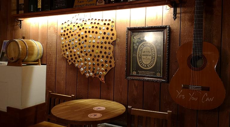 Verkostung im Office Pub, Szczecin, Bier in Polen, Bier vor Ort, Bierreisen, Craft Beer, Bierbar, Pub, Hausbrauertreffen, Bierverkostung