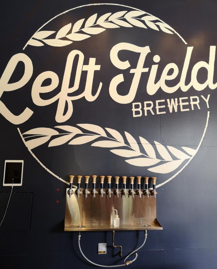 Left Field Brewery, Toronto, Bier in Kanada, Bier vor Ort, Bierreisen, Craft Beer, Brauerei, Taproom