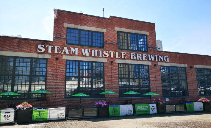 Steam Whistle Brewing, Toronto, Bier in Kanada, Bier vor Ort, Bierreisen, Craft Beer, Brauerei, Taproom