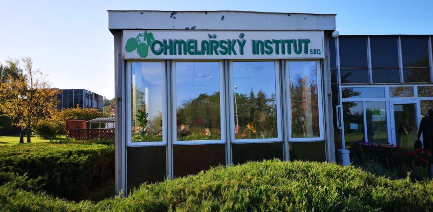 Chmelařský Institut Žatec, Pokušný Pivovar, Žatec, Bier in Tschechien, Bier vor Ort, Bierreisen, Craft Beer, Hopfen