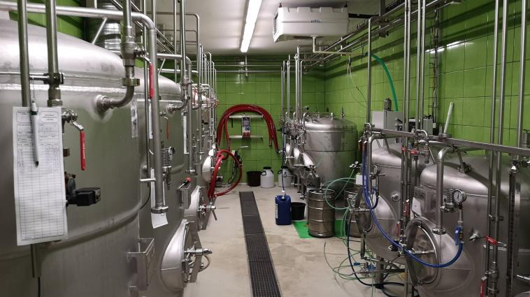 Restaurant & Pivovar U Orloje, Žatec, Bier in Tschechien, Bier vor Ort, Bierreisen, Craft Beer, Brauerei, Gasthausbrauerei, Biergarten