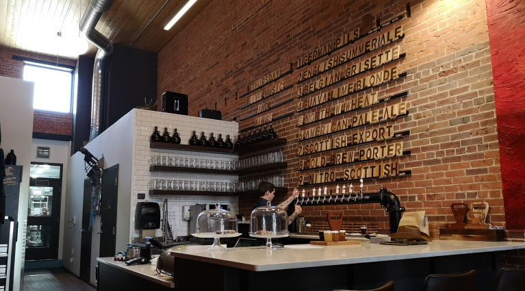 Travois Ale Works, Medicine Hat, Bier in Kanada, Bier vor Ort, Bierreisen, Craft Beer, Brauerei, Taproom
