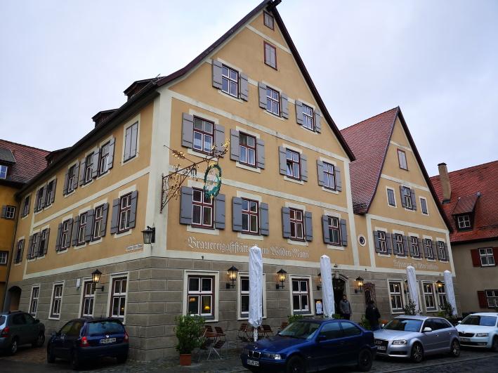"""Brauereigaststätte """"Zum Wilden Mann"""", Dinkelsbühl, Bier in Bayern, Bier vor Ort, Bierreisen, Craft Beer, Brauereigasthof"""