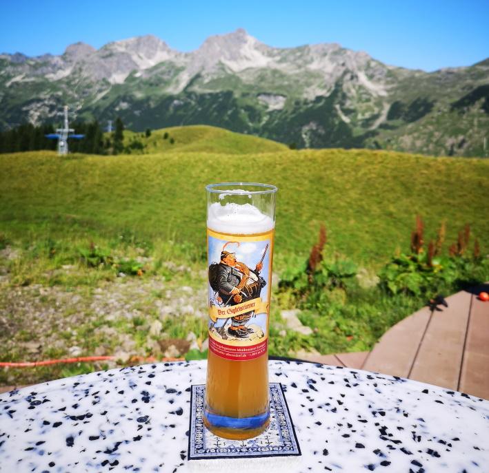 Enzianhütte Oberstdorf, Oberstdorf, Bier im Allgäu, Bier in Bayern, Bier vor Ort, Bierreisen, Craft Beer, Brauerei