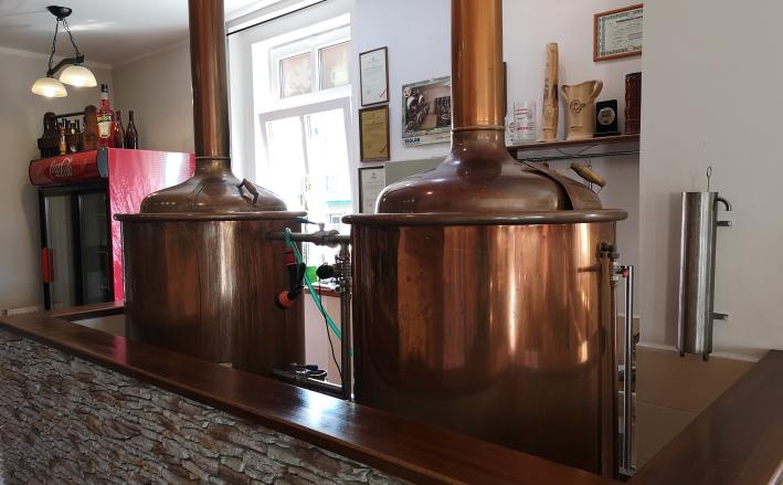 Minipivovar Lounský Žejdlík, Louny, Bier in Tschechien, Bier vor Ort, Bierreisen, Craft Beer, Brauerei, Gasthausbrauerei