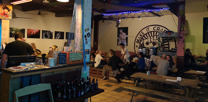 A la Bière Comme à la Bière – Le Drunken, Montreuil, Bier in Frankreich, Bier vor Ort, Bierreisen, Craft Beer, Bierbar