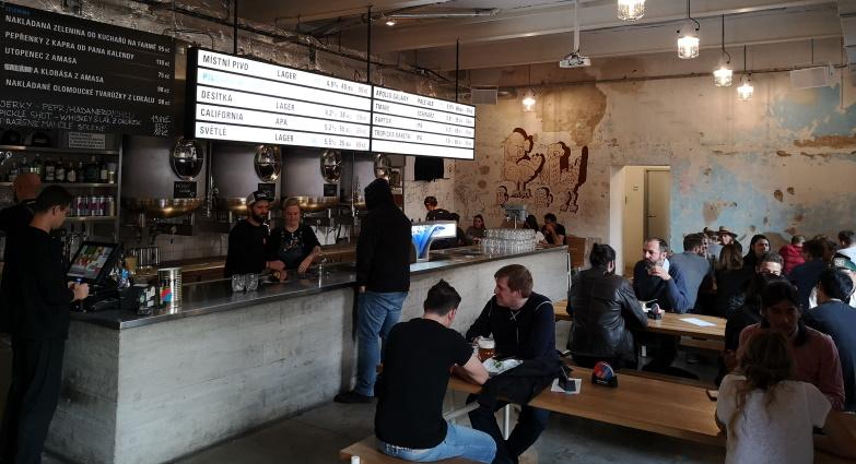 Dva Kohouti, Praha, Bier in Tschechien, Bier vor Ort, Bierreisen, Craft Beer, Brauerei, Taproom