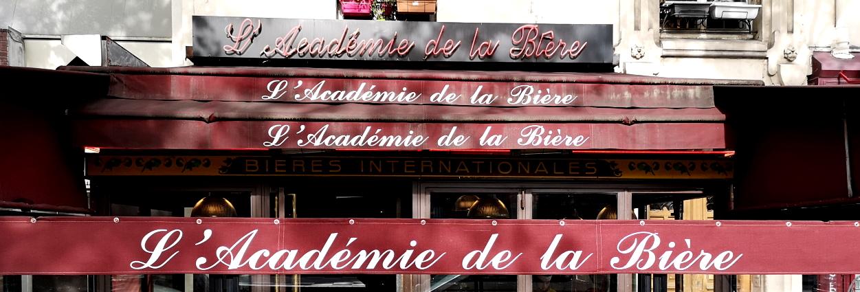L'Académie de la Bière, Paris, Bier in Frankreich, Bier vor Ort, Bierreisen, Craft Beer, Bierbar