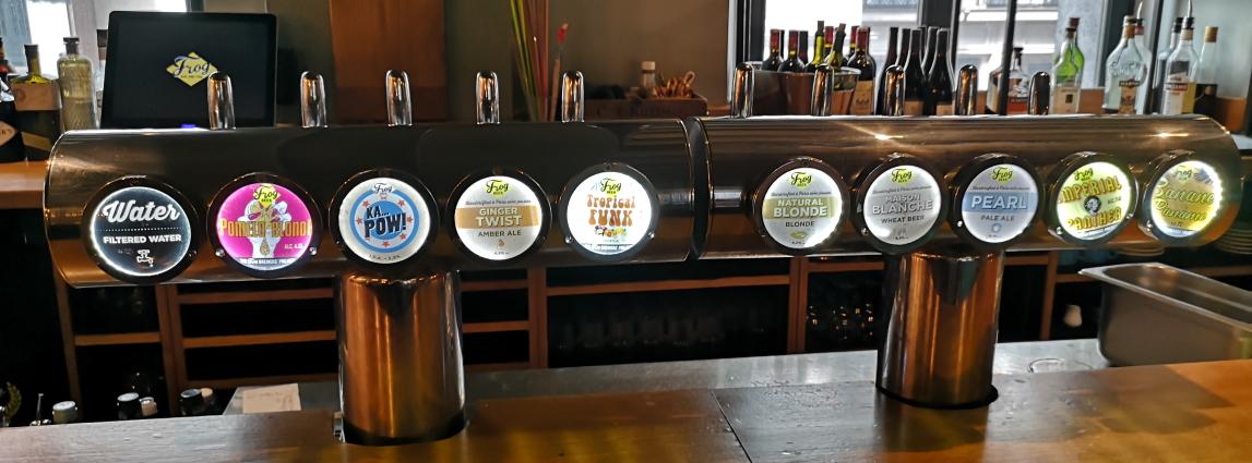 The Frog & Underground, Paris, Bier in Frankreich, Bier vor Ort, Bierreisen, Craft Beer, Bierbar, Pub