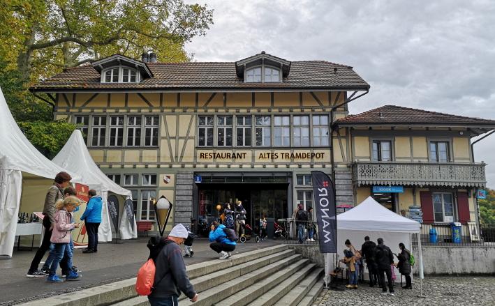 Altes Tramdepot, Bern, Bier in der Schweiz, Bier vor Ort, Bierreisen, Craft Beer, Brauerei, Gasthausbrauerei, Biergarten