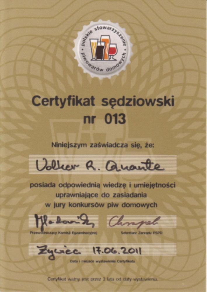 Die Ausbildung zum Bierverkoster in Polen, Warszawa, Bier in Polen, Bier vor Ort, Bierreisen, Craft Beer, Bierseminar, Bierverkostung