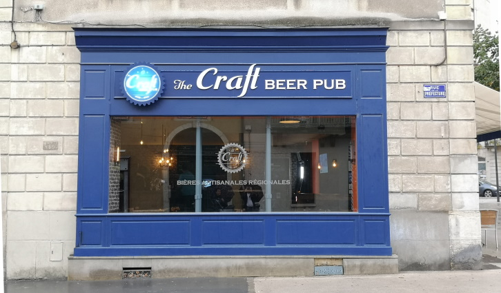 The Craft Beer Pub Dijon, Dijon, Bier in Frankreich, Bier vor Ort, Bierreisen, Craft Beer, Bierbar, Pub
