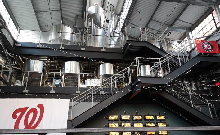 Bluejacket Brewing Co., Washington D.C., Bier in den USA, Bier vor Ort, Bierreisen, Craft Beer, Brauerei, Taproom