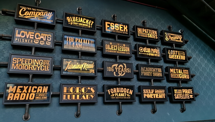 Bluejacket Brewing Co., Washington D.C., Bier in den USA, Bier vor Ort, Bierreisen, Craft Beer, Brauerei, Taproom