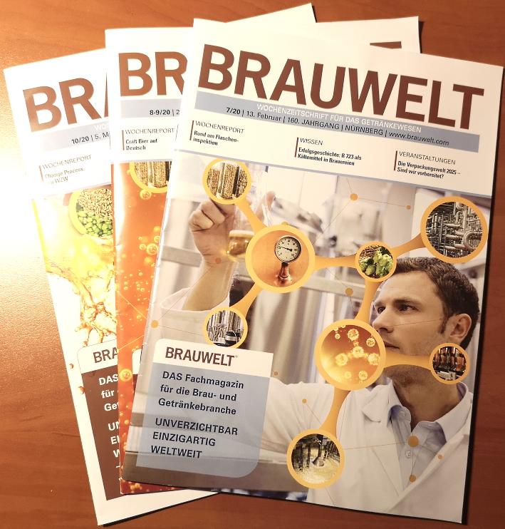 Brauwelt, Wochenzeitschrift für das Getränkewesen, Bier vor Ort, Bierreisen, Craft Beer, Biermagazin