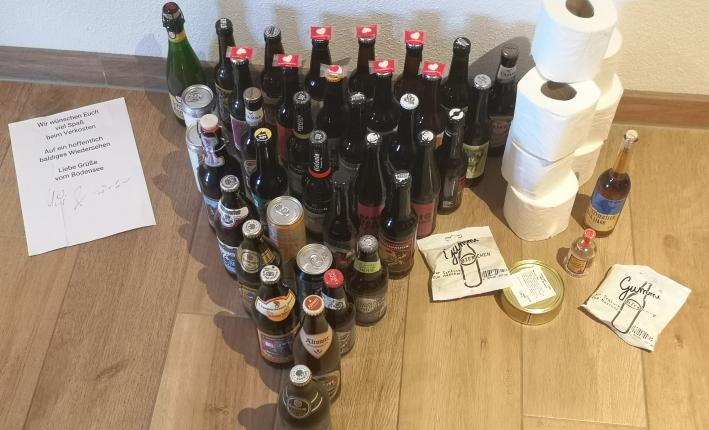 KommproBier Online-Service, Langenargen, Bier in Baden-Württemberg, Bier vor Ort, Bierreisen, Craft Beer, Bottle Shop
