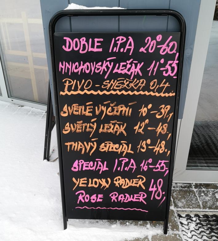 Pecký Pivovar, Pec pod Sněžkou, Bier in Tschechien, Bier vor Ort, Bierreisen, Craft Beer, Brauerei, Taproom