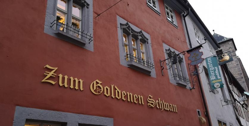 Zum Goldenen Schwan, Erfurt, Bier in Türingen, Bier vor Ort, Bierreisen, Craft Beer, Brauerei, Gasthausbrauerei, Bierrestaurant
