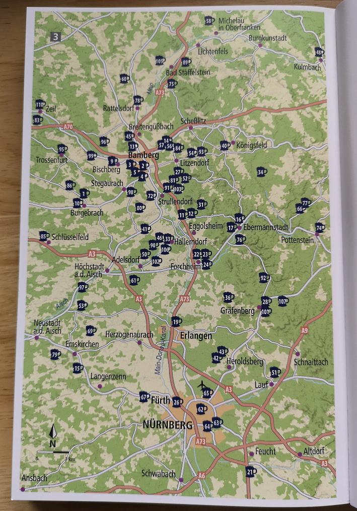 Martin Droschke: 111 fränkische Biergärten, die man gesehen haben muss, Bier In Franken, Bier in Bayern, Bier vor Ort, Bierreisen, Craft Beer, Brauerei, Bierbuch, Biergarten, Bierkeller