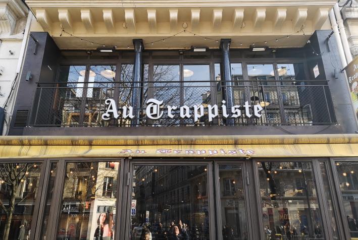 Au Trappiste, Paris, Bier in Frankreich, Bier vor Ort, Bierreisen, Craft Beer, Bierbar, Bierrestaurant