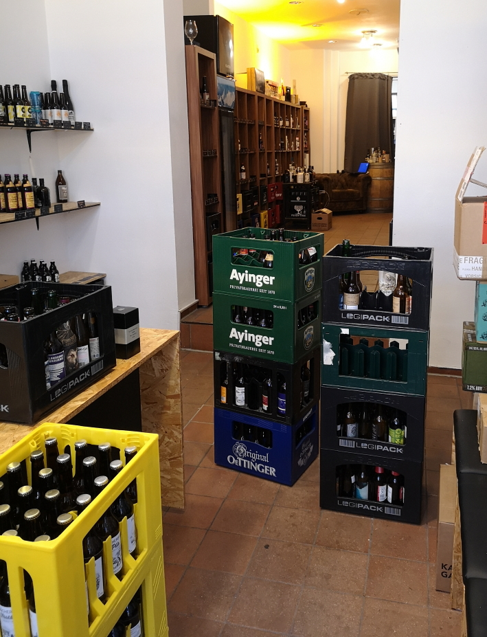 Die Bierothek® Karlsruhe, Karlsruhe, Bier in Baden-Württemberg, Bier vor Ort, Bierreisen, Craft Beer, Bottle Shop
