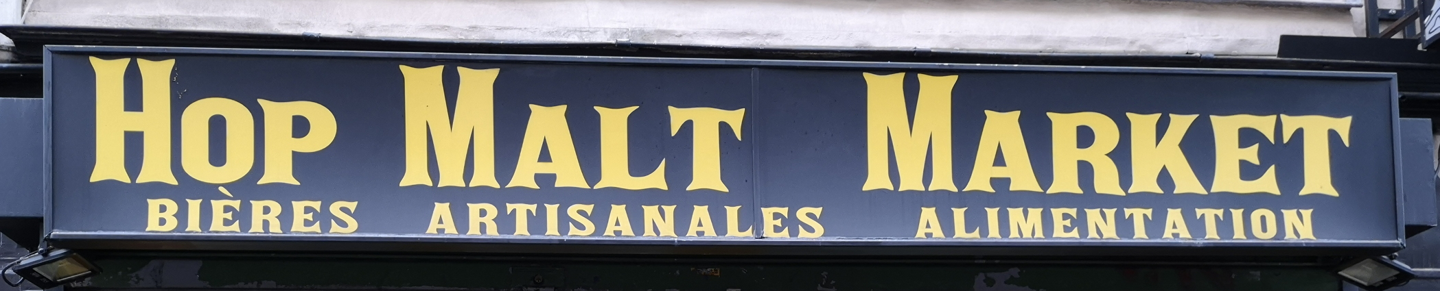 Hop Malt Market, Paris, Bier In Frankreich, Bier vor Ort, Bierreisen, Craft Beer, Bottle Shop