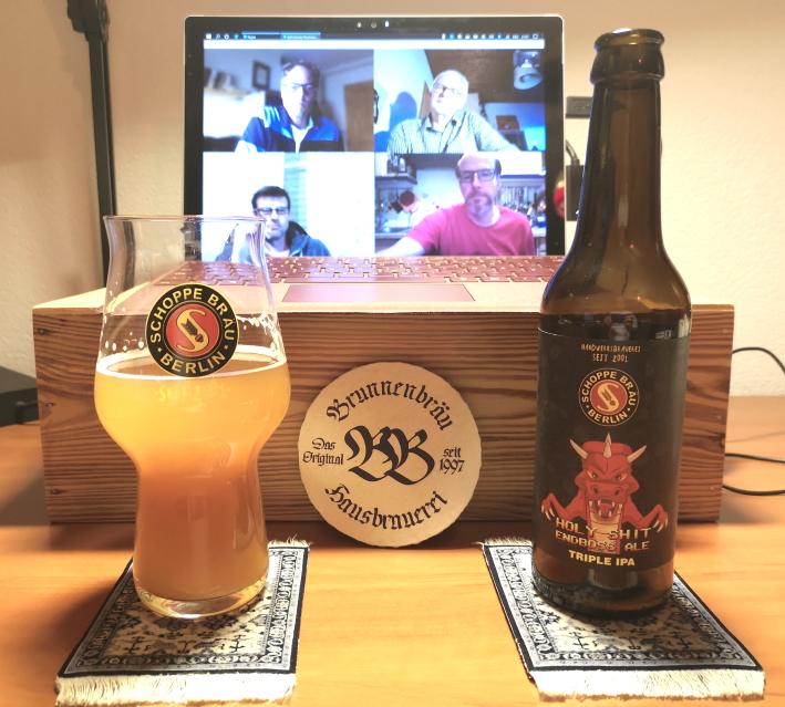 Virtuelle Verkostung Hausbrauer Nassauer Land: Belgische Abteibiere, Bier vor Ort, Bierreisen, Craft Beer, Bierverkostung