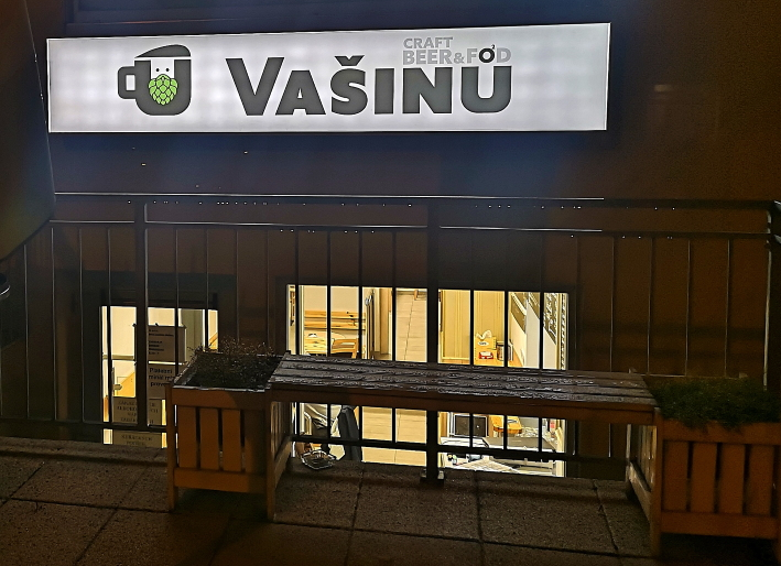 U Vašinů – craft beer & food, Brno, Bier in Tschechien, Bier vor Ort, Bierreisen, Craft Beer, Bierbar