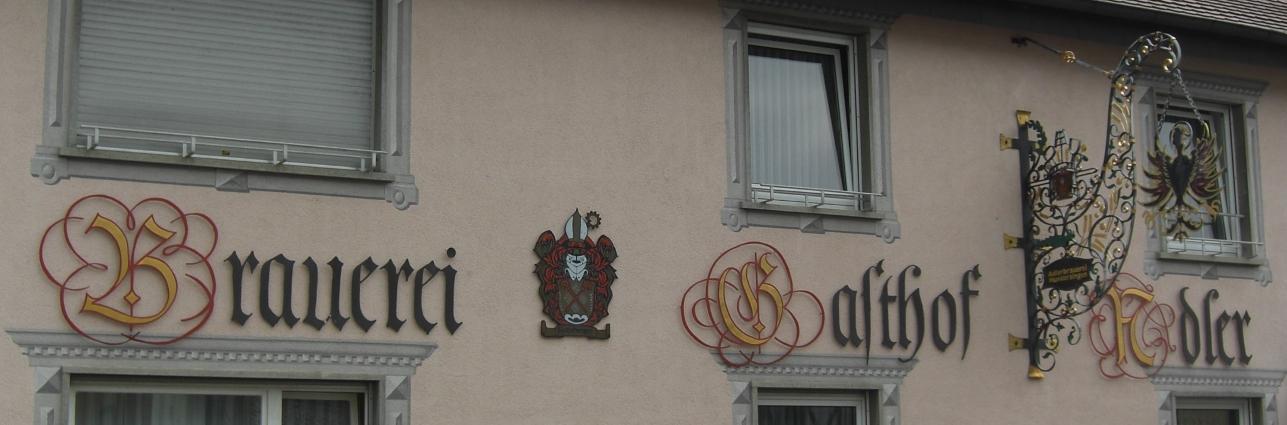 Privater Brauereigasthof Adler, Hundersingen, Bier in Baden Württemberg, Bier vor Ort, Bierreisen, Craft Beer, Brauereigasthof
