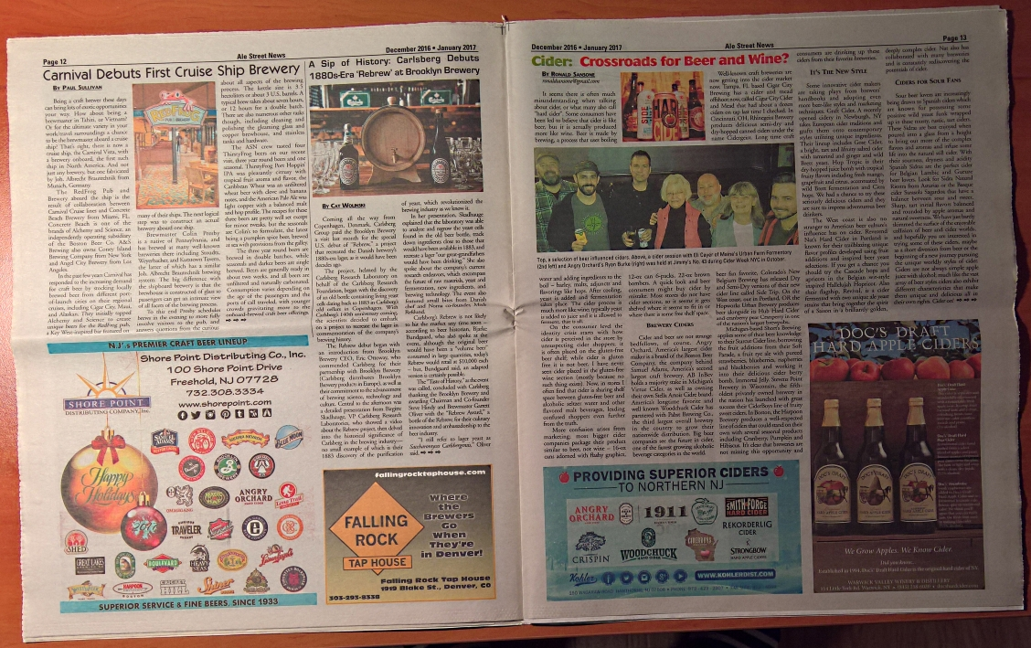 Ale Street News, Bier in USA, Bier vor Ort, Bierreisen, Craft Beer, Biermagazin