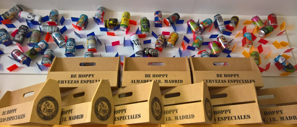 Be Hoppy, Madrid, Bier in Madrid, Bottle Shop, Bier vor Ort, Bierreisen, Craft Beer