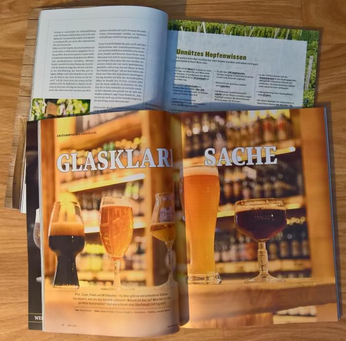 Bier – Weil's schmeckt, Bier vor Ort, Bierreisen, Craft Beer, Bierzeitschrift