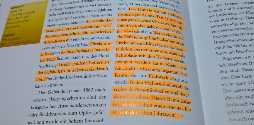 Jo von Bahls, Der norddeutsche Bierreiseführer, Hinstorff Verlag GmbH