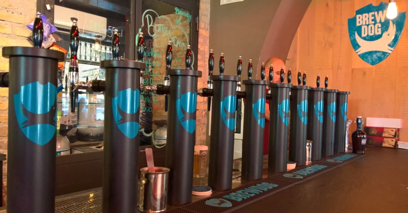 BrewDog Bar Roma, Roma, Bier in Rom, Bier vor Ort, Bierreisen, Craft Beer, Bierbar