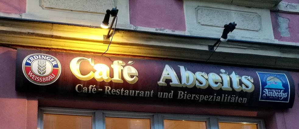 Café Abseits, Bamberg, Bier in Franken, Bier in Bayern, Bier vor Ort, Bierreisen, Craft Beer, Bierbar