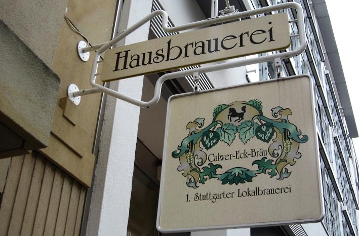 Calwer-Eck-Bräu, Stuttgart, Bier in Baden-Württemberg, Bier vor Ort, Bierreisen, Craft Beer, Brauerei, Gasthausbrauerei