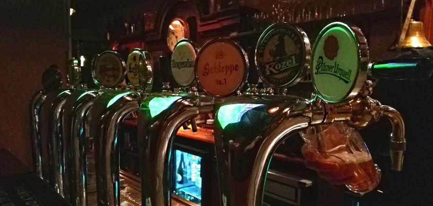Charlie P's Pub, Wien, Bier in Österreich, Bier vor Ort, Bierreisen, Craft Beer, Bierbar