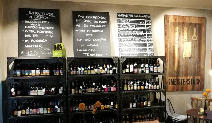 Das Meisterstück München-Haidhausen, München, Bier in Bayern, Bier vor Ort, Bierreisen, Craft Beer, Bierbar, Bottle Shop, Bierrestaurant