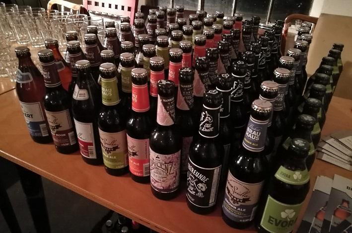 Fränkischer Bierdegustationsabend Folge 3: Im Nabel der Welt, Kofferfabrik, Fürth, Bier in Franken, Bier in Bayern, Mainseidla, Brauerei Binkert, Bier vor Ort, Bierreisen, Craft Beer, Brauerei, Bierseminar