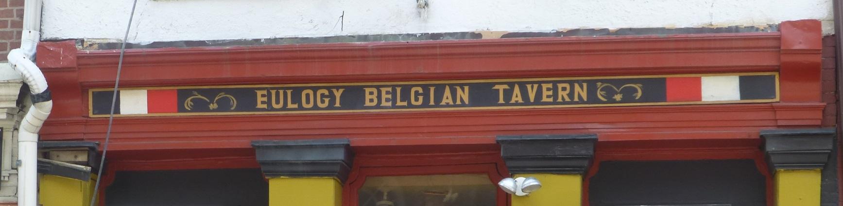 Eulogy Belgian Tavern, Philadelphia, Bier in Pennsylavania, Bier vor Ort, Bierreisen, Craft Beer, Bierbar
