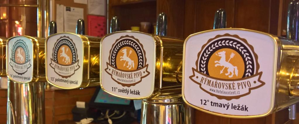 Hostinský Pivovar a Hotel Excelent, Rýmařov, Bier in Tschechien, Bier vor Ort, Bierreisen, Craft Beer, Brauereigasthof
