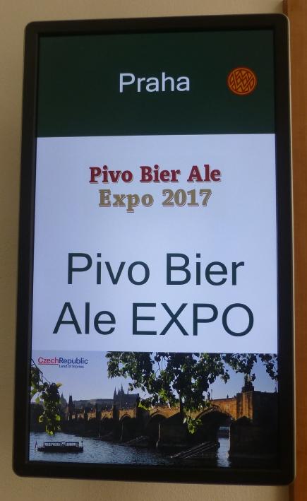 Pivo, Bier &#038; Ale EXPO 2017<br />Praha<br />CZE