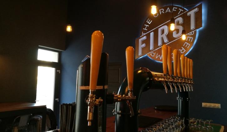 FIRST The Craft Beer Co., Budapest, Bier in Ungarn, Bier vor Ort, Bierreisen, Craft Beer, Brauerei, Bierbar