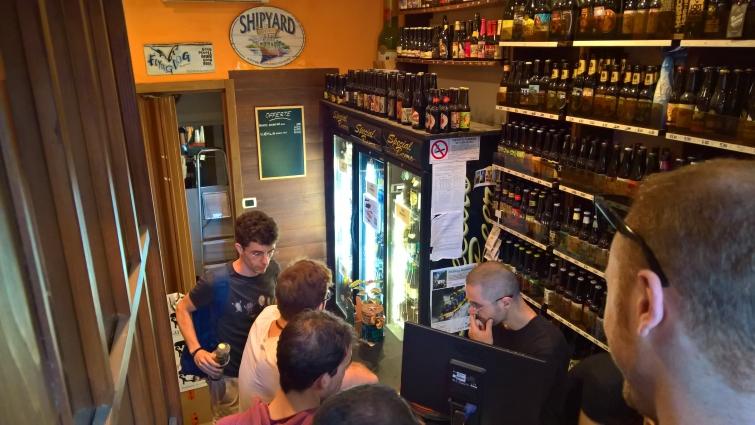 Gradi Plato, Roma, Bier in Rom, Bier vor Ort, Bierreisen, Craft Beer, Bottle Shop