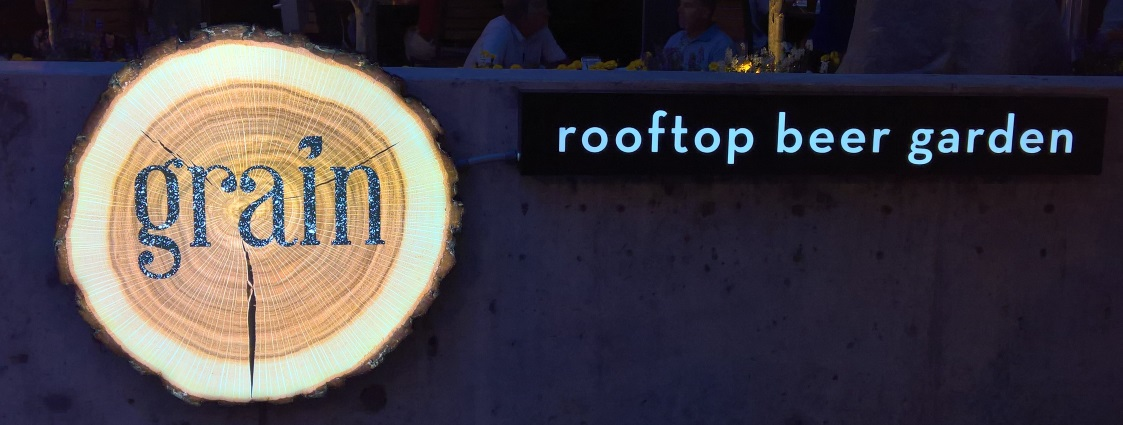 Grain – Rooftop Beer Garden, Norfolk VA, Bier in Virginia, Bier vor Ort, Bierreisen, Craft Beer, Bierbar