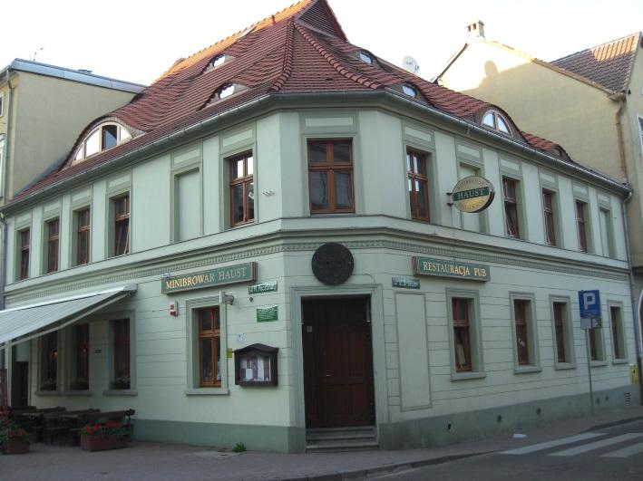Minibrowar Haust, Zielona Góra, Bier in Polen, Bier vor Ort, Bierreisen, Craft Beer, Brauerei, Gasthausbrauerei