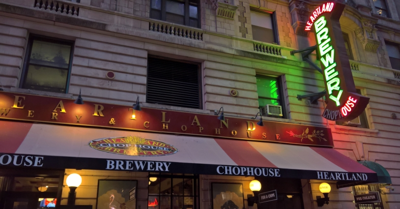 Heartland Brewery and Chophouse, New York City, Bier in New York, Bier vor Ort, Bierreisen, Craft Beer, Brauerei
